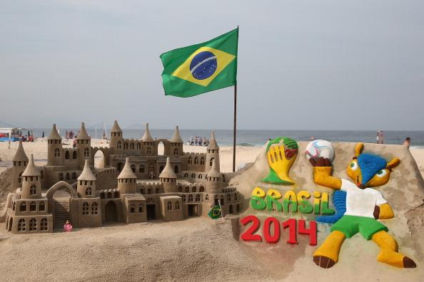 Copacabana sand art