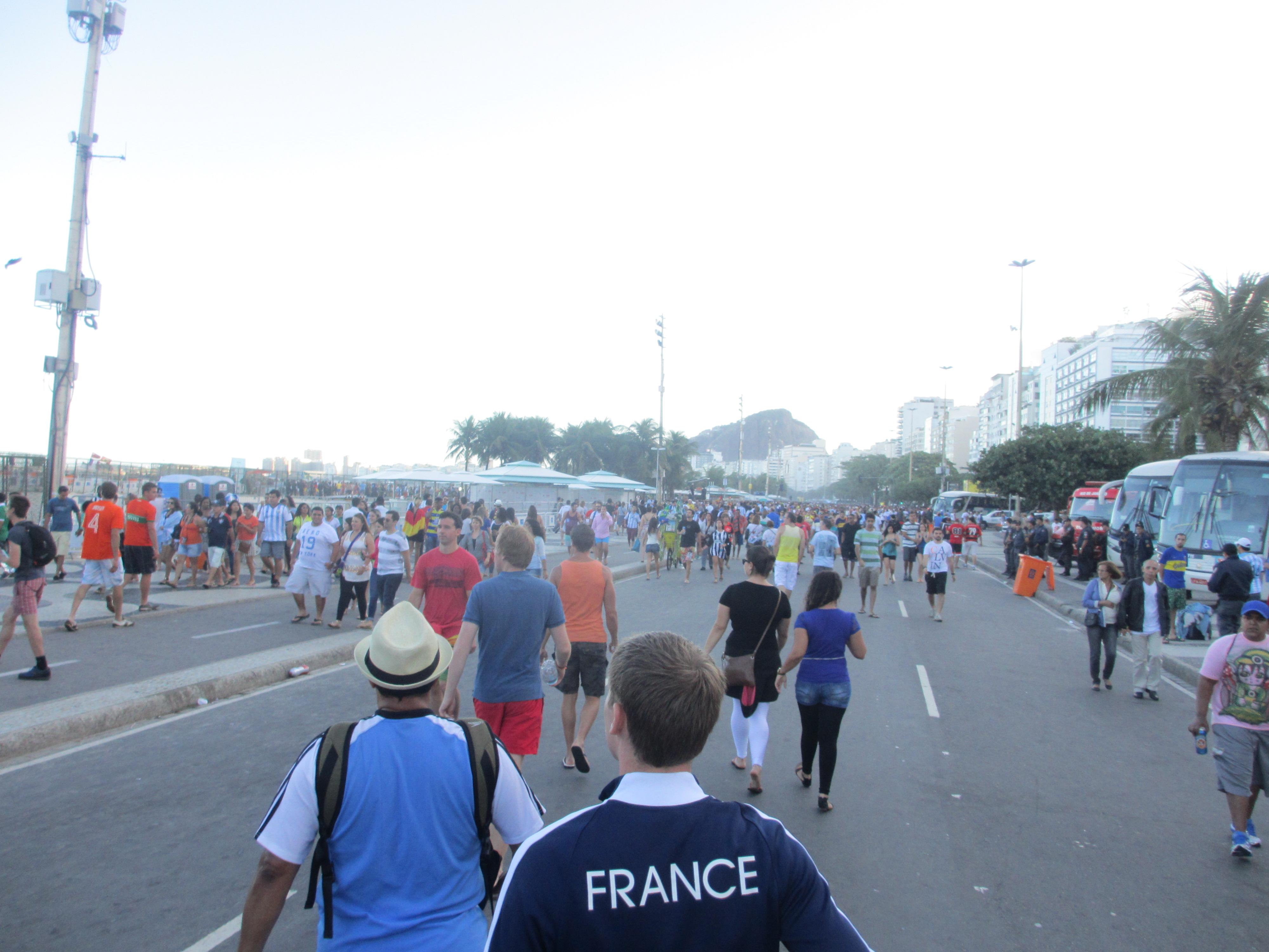 Racing to Copacabana