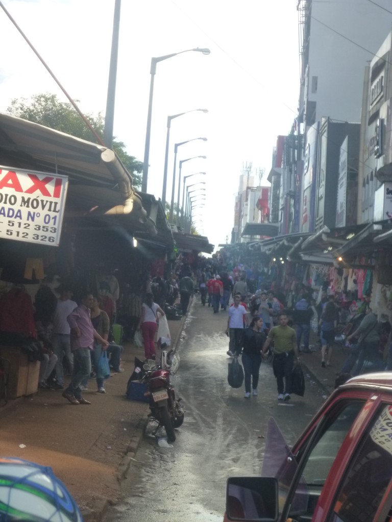 Paraguay  market Street