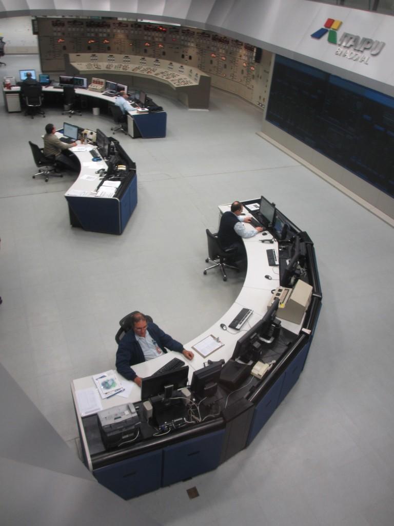 Itaipu Dam Control Room